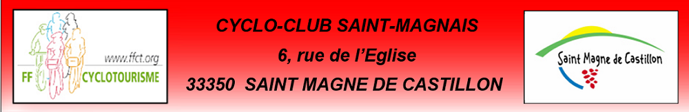 CYCLO-CLUB  SAINT-MAGNAIS